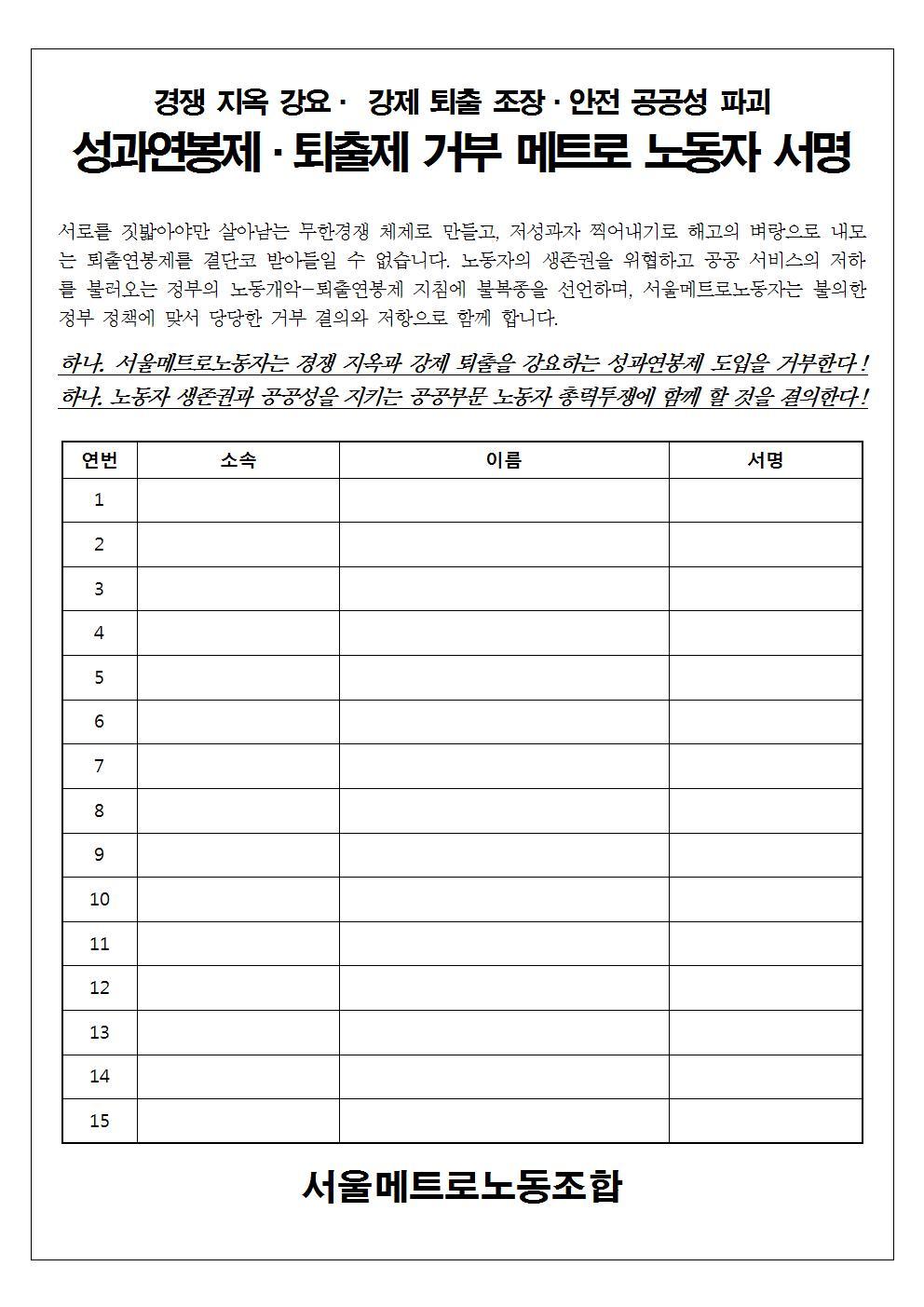성과연봉제.퇴출제 거부 메트로 노동자 서명001.jpg